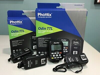 Phottix Odin TTL Flash Tigger para Canon