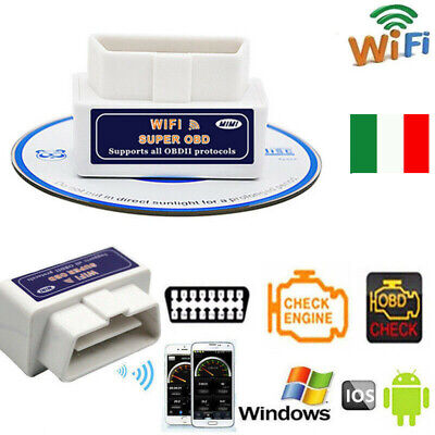 WIFI OBD2 OBDII Auto Car Diagnostic Scanner Scan Tool for iPhone Android PC iOS