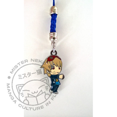 Phone Strap Metallo - Gintama - Sogo Okita (2)