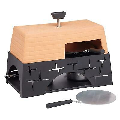 Artesà Terracotta Mini Pizza Oven Tabletop Artisan Countertop Dining Cooking Set