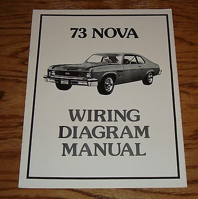 1973 Chevrolet Nova Wiring Diagram Manual 73 Chevy