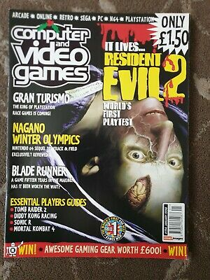 Computer And Video Games C&Vg Magazine Issue 194 Retro 90S