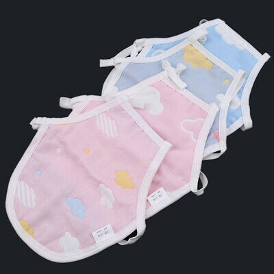 Toddlers Belly Cover Universal Gauze Lace Up Colorful Vest Supplies Apron CB
