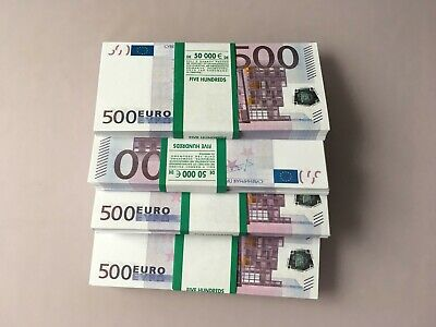 500 Euro Fake Money Joke Prank