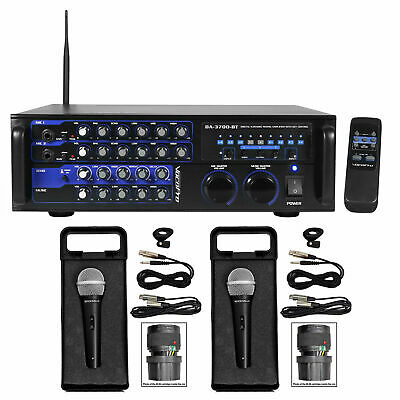 VOCOPRO DA-3700-BT 200w Digital Karaoke Mixer Amplifier w/ Bluetooth+(2) Mics
