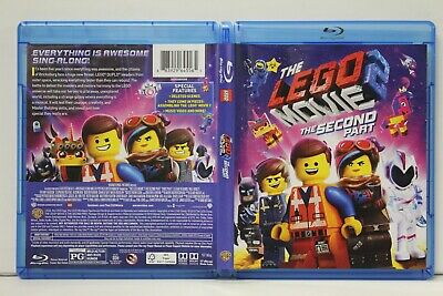 The Lego Movie 2: The Second Part (Blu-Ray/DVD,2019) FREE Shipping NO Digital