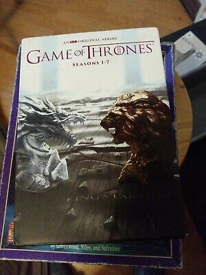 Game Of Thrones Complete Series Seasons 1-7 Dvd,34 Disc Set