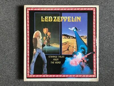 Led Zeppelin, Strange Tales From The Road ~ Rare 10x LP Colored Vinyl Box Set