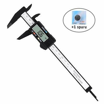 DIGITAL ELECTRONIC CALIPER Stainless Steel Vernier Inches Measuring Micrometer