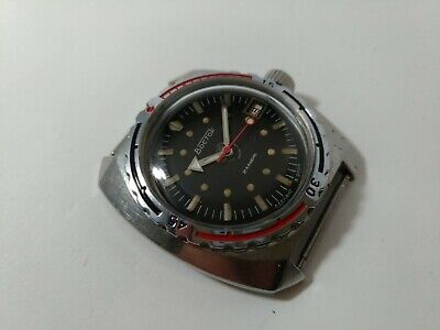 Wostok Ministry Automatik Amphibian Diver 2416 made in USSR 200m Amfibia