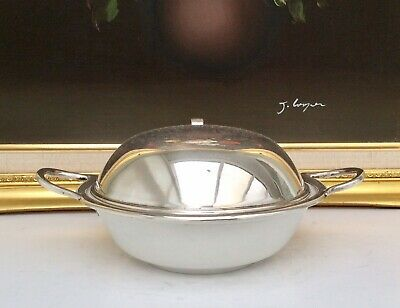 Christopher Dresser Design For Hukin & Heath Silver Plated Egg Coddler C1893