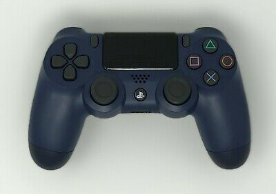 Sony PS4 Dualshock 4 Midnight Blue V2 Wireless Controller Free Two Day Shipping