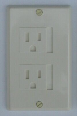 Safety Innovations Outlet Cover 2 Screw Ivory(6)