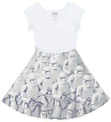 Disney Star Wars Storm Trooper Dress Cosplay Juniors Disneyland Mighty Fine