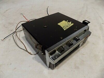 1970s REALISTIC UNDER DASH 8-TRACK RADIO CUDA MUSTANG CHEVELLE CHARGER GTO 70S!