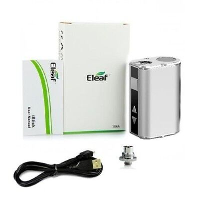 Original Eleaf Mini Istick 10w Silver Color. Small. Powerful. UPGRADED BATTERY