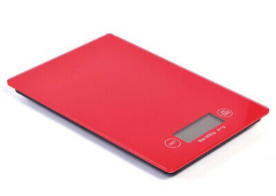 5kg/1g RED Kitchen Digital Scale LCD Electronic Balance Food Weight Postal Diet