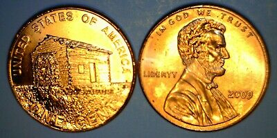 2009 DOUBLED DIE Error Early Childhood Lincoln Cent DDR #089 BU Coin  NO RESERVE