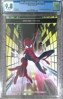Friendly Neighborhood Spider-Man #1__CGC 9.8__Stan Lee tribute cover