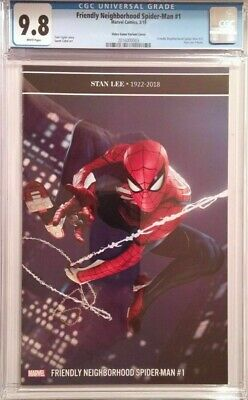 Friendly Neighborhood Spider-Man #1__CGC 9.8__Video Game variant cover