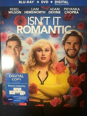 NEW / SEALED Isn't It Romantic (Blu-ray + DVD + digital) With Slipcover
