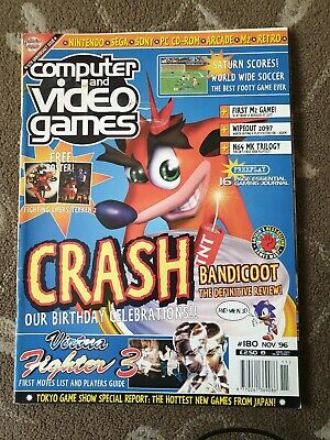 Computer And Video Games C&Vg Magazine Issue 180 Retro 90S