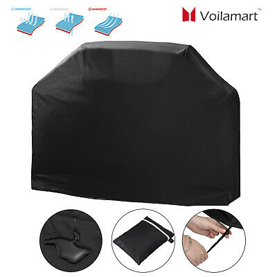 Heavy Duty BBQ Cover Waterproof Medium Barbecue Grill Outdoor Protector 145cm