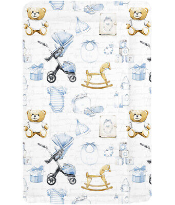 Changing Mat Vintage Baby Boy Beautiful Changing Mat Nursery Safety Material