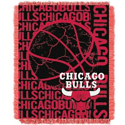 Chicago Bulls The Northwest Company 46'' x 60'' Double Play Jacquard Throw