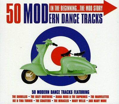The Mod Story NEW 2CD Early Hits By The Miracles,Etta James,Shirelles And More