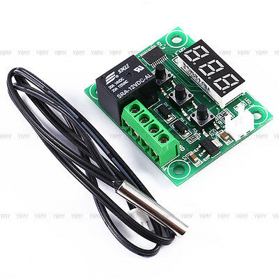 -50-110°C W1209 Digital thermostat Temperature Control Switch 12V + Sensor HOT