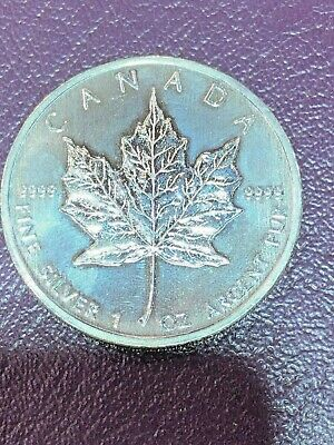 1oz Silver Canadian Maple Leaf 2011 Coin