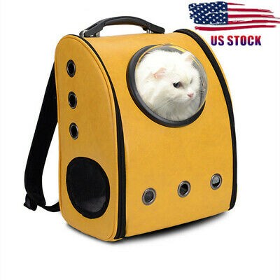 Breathable Astronaut Pet Cat Puppy Carry Bag Travel Space Capsule Backpack USA