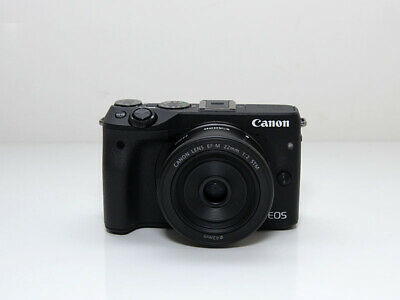 Canon  EOS M3 Digital 24.2 MP Selfie Wifi Mirrorless Camera Body Only + DSLR bag