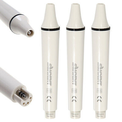 3PCS Dental Ultrasonic Piezo Scaler Handpiece Fit EMS Woodpecker UK USK