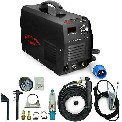 D Pro Tools 220v 50Amp Plasma Cutter Steel Copper Dc Inverter Digital Consumable