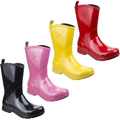 Muck Boots Bergen Mid Wellington Boots Women/'s Waterproof Lightweight Shoes