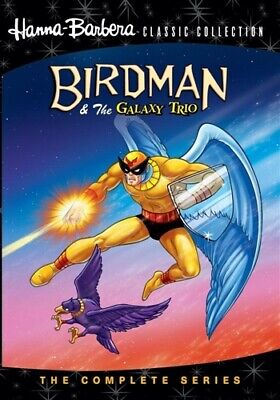 BIRDMAN & THE GALAXY TRIO COMPLETE SERIES DVD Hanna-Barbera Classic Collection