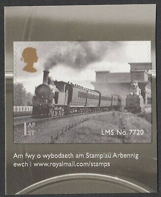Gb 2014  Classic Locomotive Of Wales  Self Adhesive Booklet Stamp  Sg 3634   Mnh