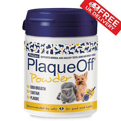 Proden Plaque Off For Cats and Dogs - 60g NATURAL Gum Health Cat Dog Hygiene