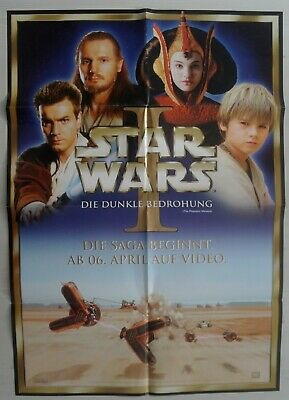 P96-1 Movie Poster - Star Wars: Episode I - The Phantom Menace (Video Release)