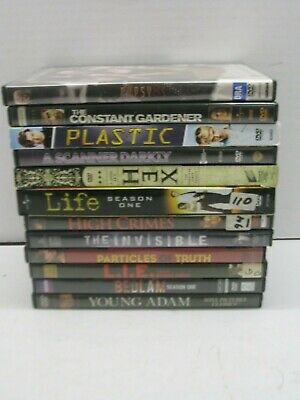 Lot Of 12 Mystery Thriller Drama DVD Movies High Crimes L.I.E. Plastic Gypsy 83