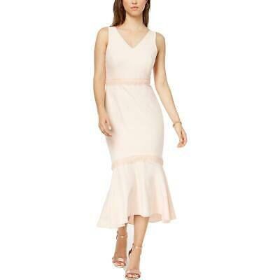 fd185ff0c7 Nanette Nanette Lepore Womens Bella Donna Pink Cocktail Midi Dress 12 BHFO  8757