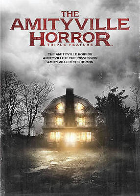 The Amityville Horror Triple Feature (DVD, 2014, 3-Disc Set)