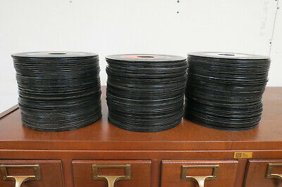 Lot Of 235 Records 45 RPM Juke Box Records All Genres