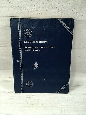 Lincoln Head Cent Official Whitman Folder Coins Album BOOK #9004 VINTAGE