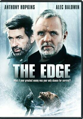 THE EDGE New Sealed DVD Anthony Hopkins Alec Baldwin