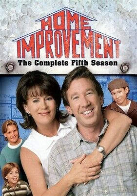 HOME IMPROVEMENT COMPLETE FIFTH SEASON 5 Sealed New 3 DVD Set