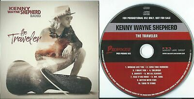 KENNY WAYNE SHEPHERD BAND - The Traveler (NEW PROMO CD +  10 TRKS)