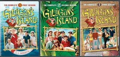 GILLIGAN'S ISLAND COMPLETE SERIES SEASONS 1 - 3 New 9 DVD 1 2 3